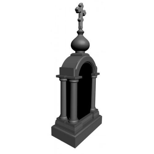 Памятник из гранита - часовня-1