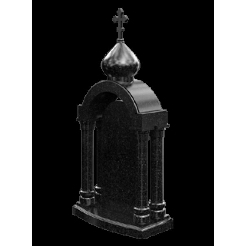 Памятник из гранита - часовня-15
