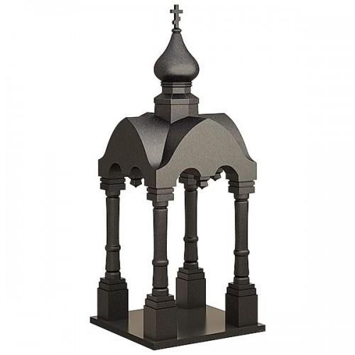 Памятник из гранита - часовня-6