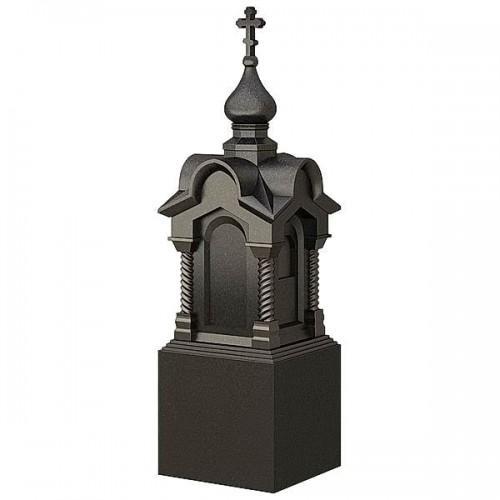 Памятник из гранита - часовня-19