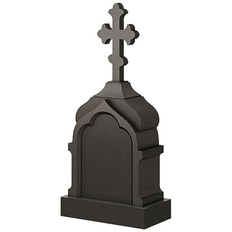 Памятник из гранита - часовня-11