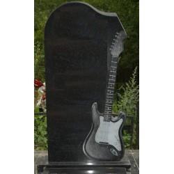 Памятник из гранита - гитара-4