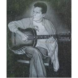 Памятник из гранита - гитара-1