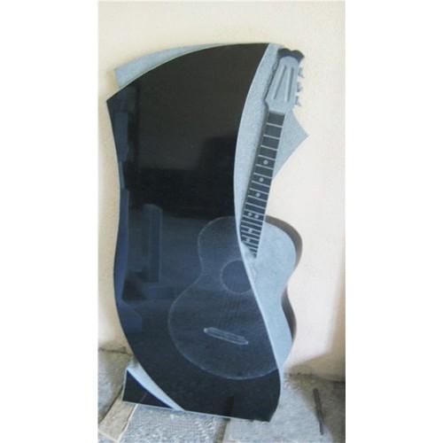 Памятник из гранита - гитара-3