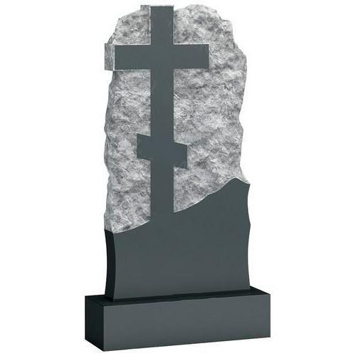 Памятник из гранита - крест мемориал A227