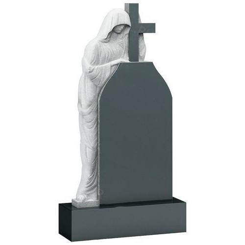 Памятник из гранита - ангел и крест мемориал A520