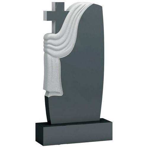 Памятник из гранита - крест и плащаница мемориал A803