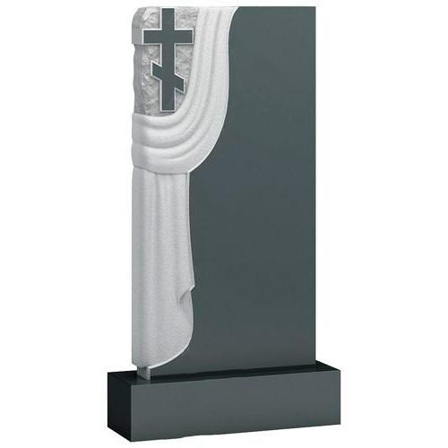 Памятник из гранита - крест плащаница мемориал A926