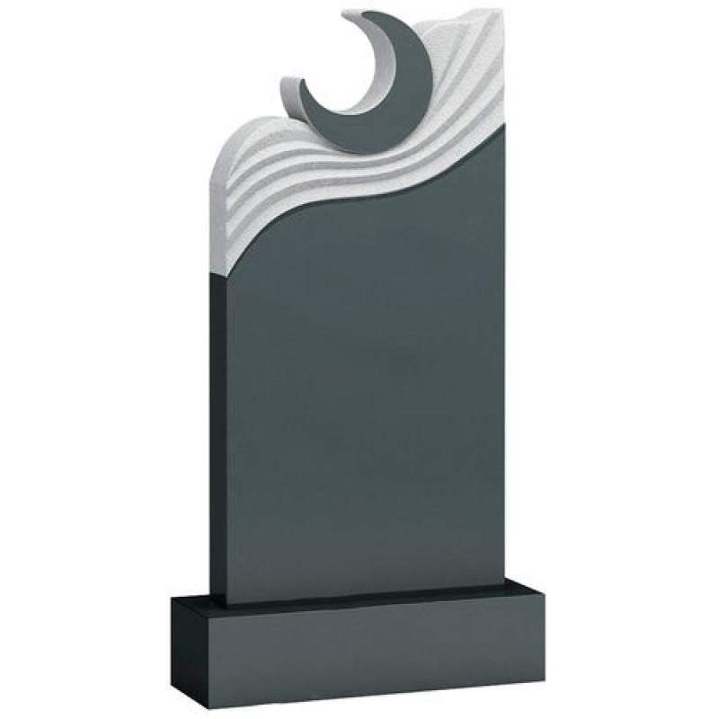 Памятник из гранита - месяц мемориал A941