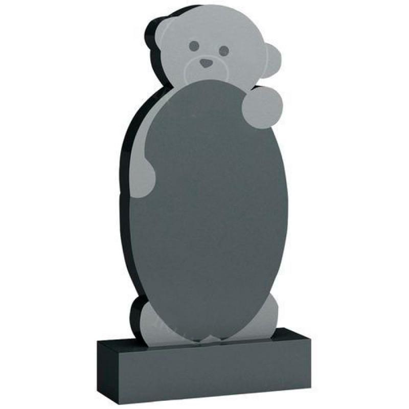 Памятник из гранита - детский медвежонок мемориал A198