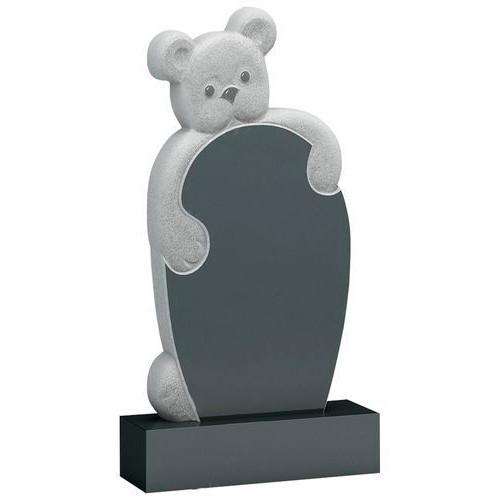 Памятник из гранита - медвежонок детский мемориал A837