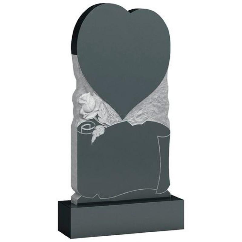 Памятник из гранита - сердце мемориал A920